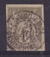 DDX 346  --  FRANCE Colonies Générales - SAIGON Port Cochinchine 1887 Sur TP Sage 1 F - Sage