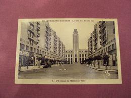 CP- 69  -  RHONE   -  VILLEURBANNE   - L'avenue De L'hôtel De Ville  - 0.30 - Villeurbanne
