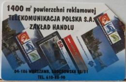 PO130 - POLONIA - POLSKA , URMET - 25 - 1400 MQ DI SUPERFICIE PUBBLICITARIA  TELECOMUNICAZIONI PT - Pologne