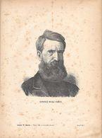 Generale Nicola Fabrizi. Stampa 1891 - Documentos Antiguos