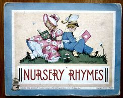 LIVRE D'ENFANT NURSERY RHYMES ANNE ROCHESTER - A TUCK BOOK (EN ANGLAIS) - Bambini