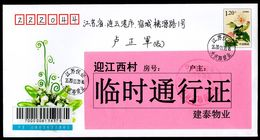 CHINA YiZheng To LianYunGang Cover, With COVID-19 Temporary Pass - Krankheiten