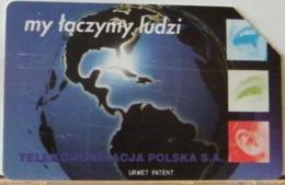 PO133 - POLONIA - POLSKA , URMET - 25 - MY TACZYMY LUDZI, ABBIAMOPERSONE  TP - TELEKOMUNIKACJA - Pologne