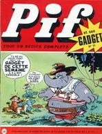 Pif Gadget N°73 Avec Son Gadget - Loup-Noir - Jacques Flash - Pif Gadget