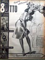 Rivista 8 Otto Del 20 Aprile 1947 Joan Bennett Colpo Di Fulmine Cheesecake Bacio - Livres, BD, Revues