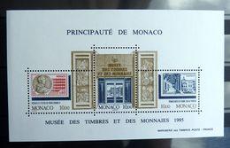 MONACO 1995 Bloc-Feuillet 69 Musée Des Timbres Et Des Monnaies - Philatelie & Münzen