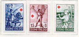 1955 - FINLANDIA - Mi. Nr. 447/449 - LH -  (UP.70.48) - Usati