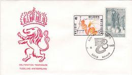 FDC Oblitération Temporaire 1510 1910 Europa Namur - 1981-90