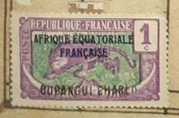 OUBANGUI-CHARI ,1C-USED STAMP - Ubangi (1915-1936)