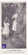 Carte Postale Publicité Chocolat Planteur Chaperon Rouge Fille Fillette Robe Red Riding Hood Girl Edwardian Dress A37-29 - Fairy Tales, Popular Stories & Legends