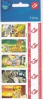Duostamps Duostamp Wall Disney Dessin Animé Bambi Le Roi Lion La Belle Et Le Clochard  ... - Belgium