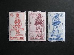 Indochine: TB Série N° 219 Au N° 221, Neufs XX . - Nuevos