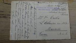 Carte Inteernement Des Prisonniers De Guerre HILTERFINGEN - SUISSE - 1916  …………………..OQ-5198 - Switzerland