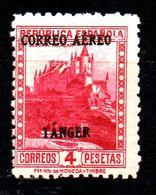 Sello Nº 112 Tanger - Marruecos Español