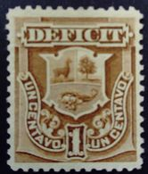 Pérou Peru 1874 Taxe Tax Yvert T1 MNG - Peru