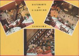 Ristorante Da Giannino. Sanremo (IM). Non Viaggiata, Originale - Cartes Postales