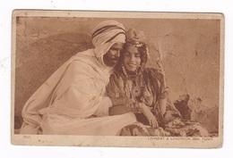 CPSM Tunisie, Lehnert & Landrock, Phot. Tunis, Une Danseuse Des Ouled NaÏl, Types D'Orient, Série I, N°2511 - Túnez
