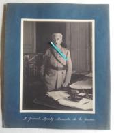 1916 Lyautey Général Ministre De La Guerre Maroc Colonial Tranchée Poilu Ww1 14-18 1914 1918 Photo - War, Military