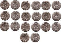 Uganda - 10 Pcs X 50 Cents 1976 AUNC Lemberg-Zp - Uganda