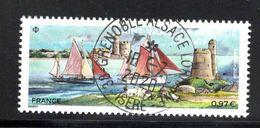 France 2020.village Préféré Des Français Saint-Vaast La-Hougue Cachet Rond Gomme D'Origine - Used Stamps