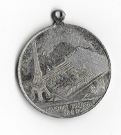 Petite Médaille Souvenir De L'Exposition Universelle De Paris   - 1889 - Obj. 'Souvenir De'