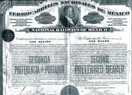 FERROCARRILES NACIONALES De MÉXICO; Una Acción - Unclassified