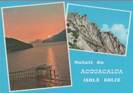 Isole Eolie. Saluti Da Acquacalda. Non Viaggiata - Sin Clasificación