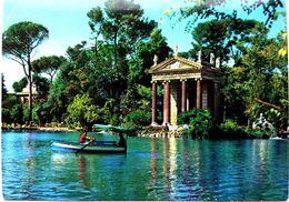 #858   Lake In Villa Borghese Of Roma - Lazio, ITALY - Postcard - Parks & Gardens