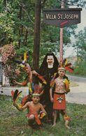Oconomowoc , Wisconsin , 50-60s ; St Joseph Home For Children , Nun & Indians - Indiens De L'Amerique Du Nord