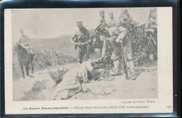 La Guerre Russo - Japonaise -- Blesse Russe Recevant A Boire D'un Soldat Japonais - Other Wars