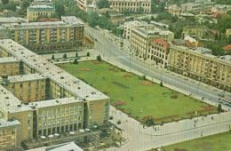 CPA PLOIESTI- SQUARE, BUSS, CAR - Romania