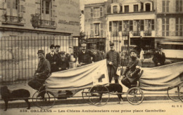 ORLEANS - Les Chiens Ambulanciers (vue Prise Place Gambetta) - Orleans