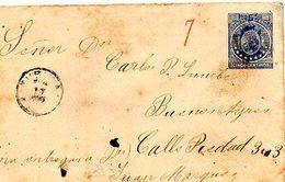 C9 Avant 1900 Entier Postal De Bolivie - Bolivia