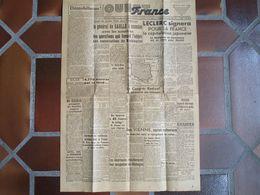 OUEST-FRANCE - LECLERC Signera Pour La France La Capitulation Japonaise - N°315 - 21 Août 1945 - 1939-45