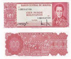 Bolivia - 100 Pesos Bol. 1983 P.164A(1) UNC Lemberg-Zp - Bolivia