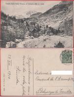 Tenda (Valle Roja). Miniera Di Vallauria. Viaggiata 1910 - Cartoline