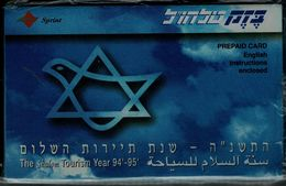ISRAEL 1994 BEZEQ PHONECARD TELEHUL MINT VF!! - Israel