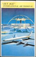 "USA -  ""JET AGE "" LOS ANGELES  INTERNATIONAL AIRPORT -  CONVAIR JET 880 - Los Angeles"
