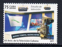 2015 Cuba Television Complete Set Of 1 MNH - Cuba