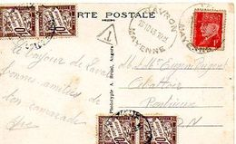 C9 1943 Carte Postale Taxée - Postage Due