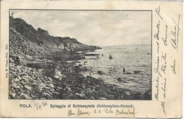 1901 - PULA   Pola , Gute  Zustand , 2 Scan - Croazia