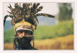 PAPOUASSI  NOUVELLE GUINÉE  Guerrier Papou De Wabag - Indonésie