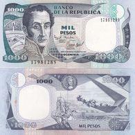 Colombia - 1000 Pesos 2.08. 1995 UNC P. 438 Lemberg-Zp - Kolumbien