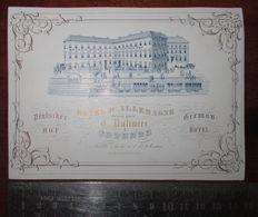 Ostende Hotel D'Allemagne Dalimier Porceleinkaart - Porzellan