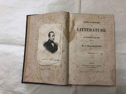 COURS FAMILIER DE LITTèRATURE UN ENTRETIEN PAR MOIS DE LAMARTINE AUTOGRAFO 1856 - Livres, BD, Revues