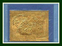 Haute Volta Yv. N° PA 89 ** Under Sous Blister GOLD OR Cote XX Christmas Noël 1970 - Obervolta (1958-1984)