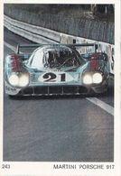 IMAGE Style CHROMO Voiture De Course Prototype MARTINI PORSCHE 917 - Documentos Antiguos