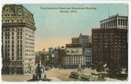 CPA Etats-Unis > MI - Michigan - Detroit - Pontchartrain Hotel And Hammond Building - Detroit