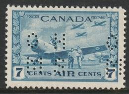 Canada Sc OC8 Official Perfin MNH - Officials