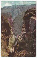 CPA Etats-Unis > CO - Colorado - Loocking Down Into The Royal Gorge - Rocky Mountains